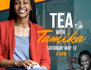 tea with Tamika Catchings