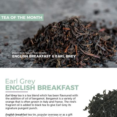 Earl Grey & English Breakfast