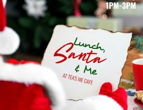 Lunch, Santa & Me
