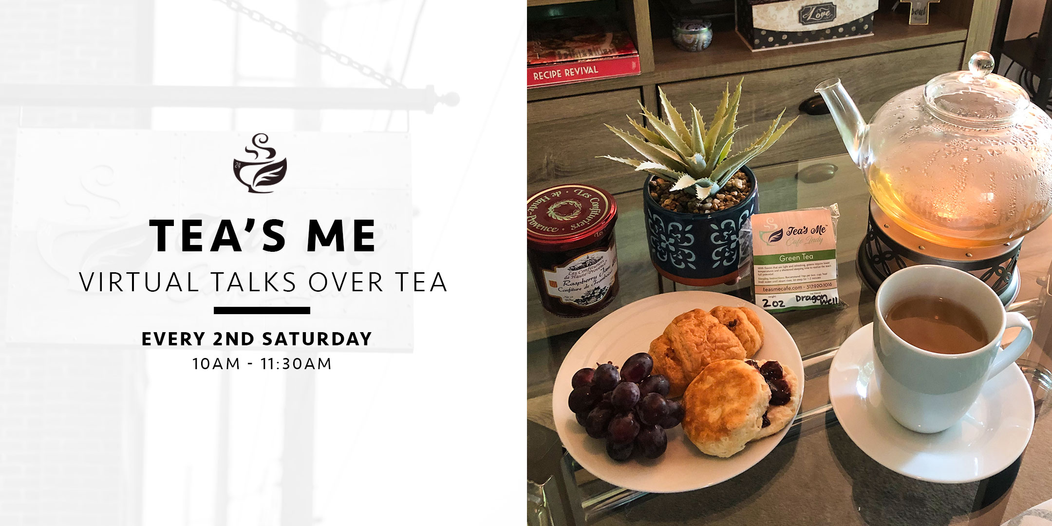 Talks Over Tea Tea's Me Cafe
